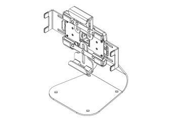 Peerless Universal Tablet Cradle PTM400S-W