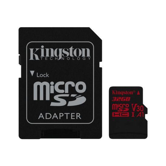 Kingston Canvas React - flashhukommelseskort - 32 GB - microSDHC UHS-I