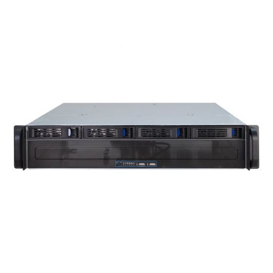 Inter-Tech IPC 2U-2404L - rackversion - 2U - micro-ATX