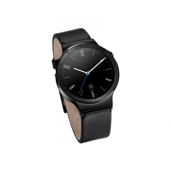 Huawei Watch Active - sort rustfrit stål - smart ur med rem - sort - 4 GB