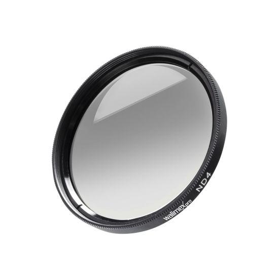 walimex pro ND4 - filter - gråfilter - 62 mm