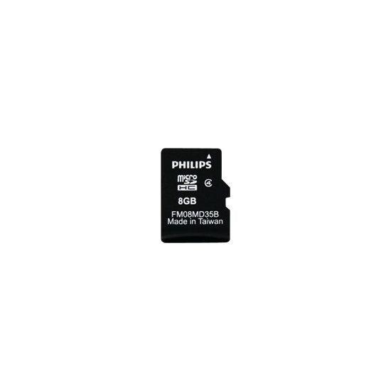 Philips FM08MD35B - flashhukommelseskort - 8 GB - microSDHC