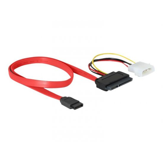 DeLOCK SATA All-in-One cable - SATA-kabel - 50 cm