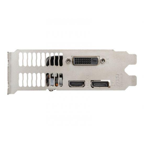 MSI GTX 1050 TI 4GT LP &#45 NVIDIA GTX1050Ti &#45 4GB GDDR5 - PCI Express 3.0 x16