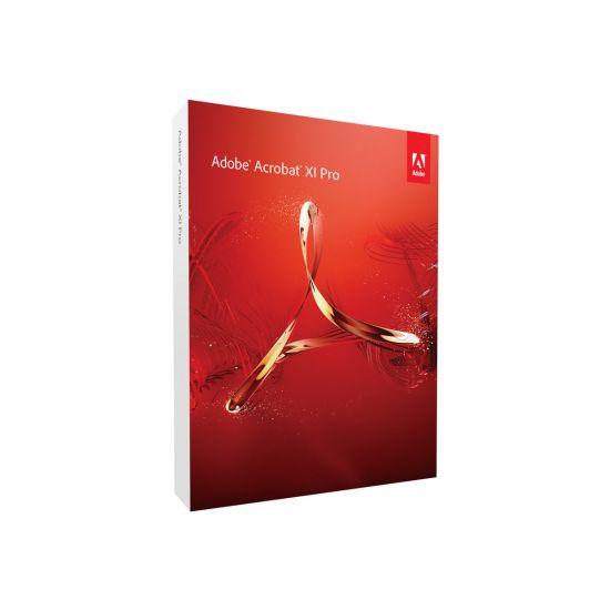 Adobe Acrobat XI Pro - bokspakke - 1 bruger