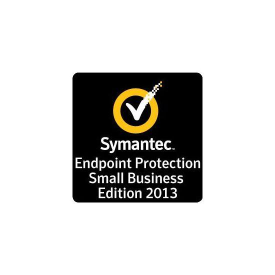 Symantec Endpoint Protection Small Business Edition 2013 - kompetitiv opgraderingsabonnement på forskud (1 år) + 24x7 Support - 1 bruger