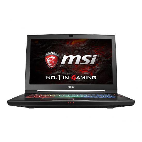 MSI GT73VR 6RF 055NE Titan Pro - 32GB Core i7 17.3´´ GF-GTX1080 8GB Aluminium sort