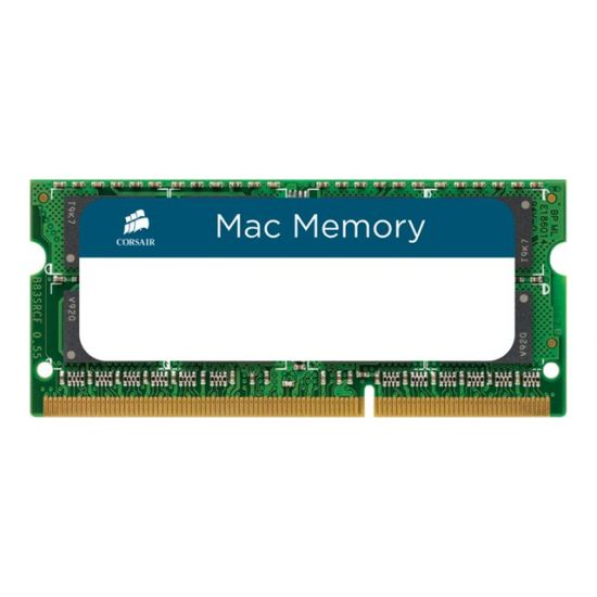 Corsair Mac Memory &#45 16GB: 2x8GB &#45 DDR3 &#45 1600MHz &#45 SO DIMM 204-PIN - CL11
