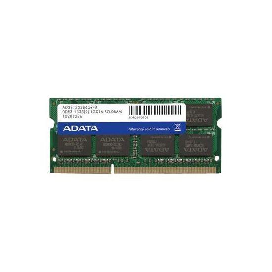 ADATA Premier Series &#45 2GB &#45 DDR3 &#45 1333MHz &#45 SO DIMM 204-PIN - CL9