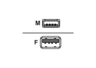 Equip USB forlængerkabel