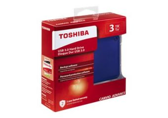 Toshiba Canvio Advance &#45 3TB