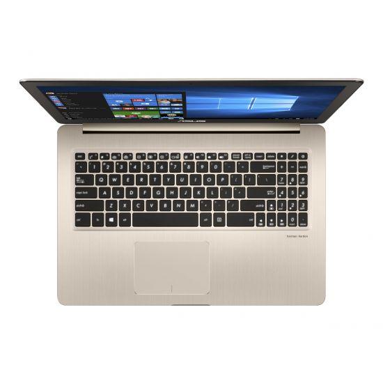 "ASUS VivoBook Pro 15 N580VD FY162T - Intel Core i7 7700HQ / 2.8 GHz - 16 GB DDR4 - 512 GB M.2 SATA SSD - NVIDIA GeForce GTX 1050 4GB GDDR5 - 15.6"""