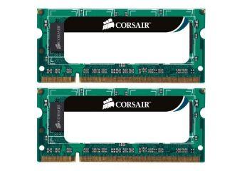 Corsair &#45 8GB: 2x4GB &#45 DDR3 &#45 1333MHz &#45 SO DIMM 204-PIN