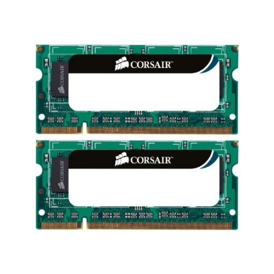 Corsair &#45 8GB: 2x4GB &#45 DDR3 &#45 1333MHz &#45 SO DIMM 204-PIN - CL9