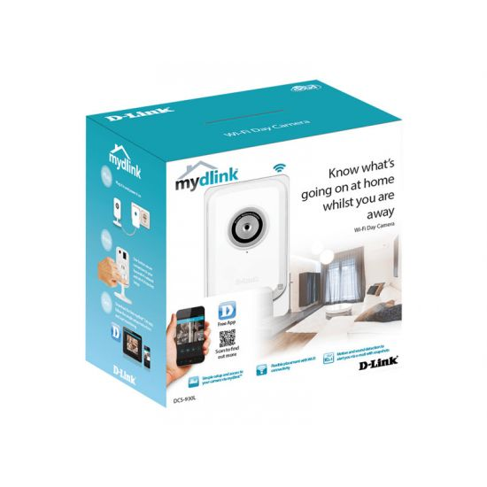 D-Link DCS 930L mydlink-enabled Wireless N Home Network Camera - netværksovervågningskamera