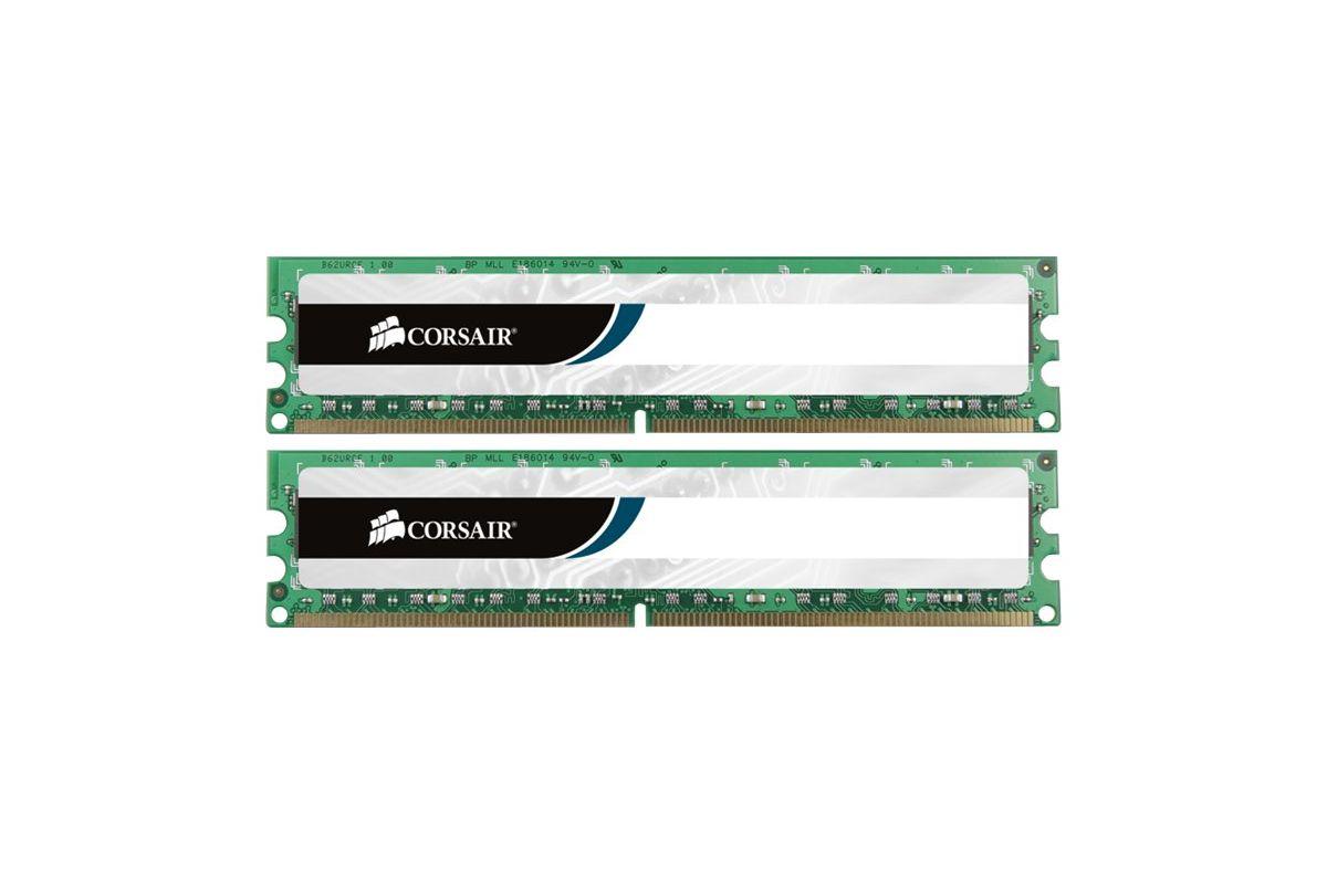 Corsair Value Select &#45 8GB: 2x4GB &#45 DDR3 &#45 1600MHz &#45 DIMM 240-pin