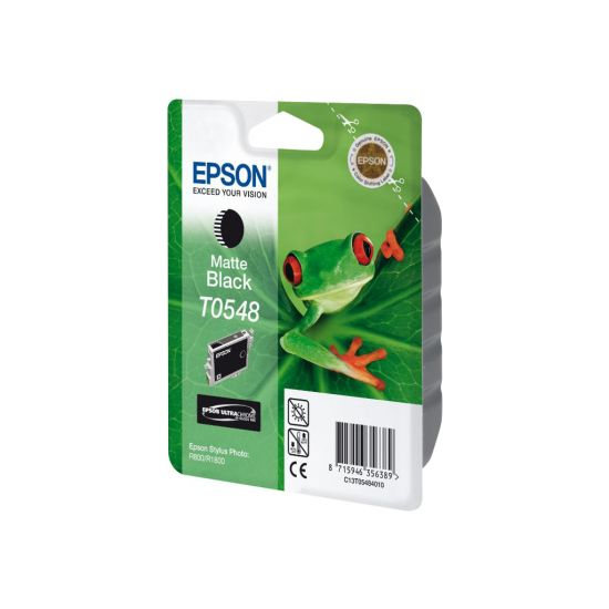 Epson T0548 - mat sort - original - blækpatron
