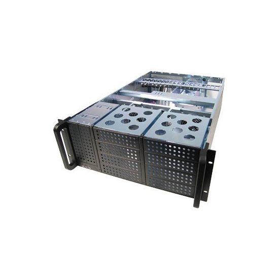 Chieftec UNC-410F-B - rackversion - 4U - udvidet ATX