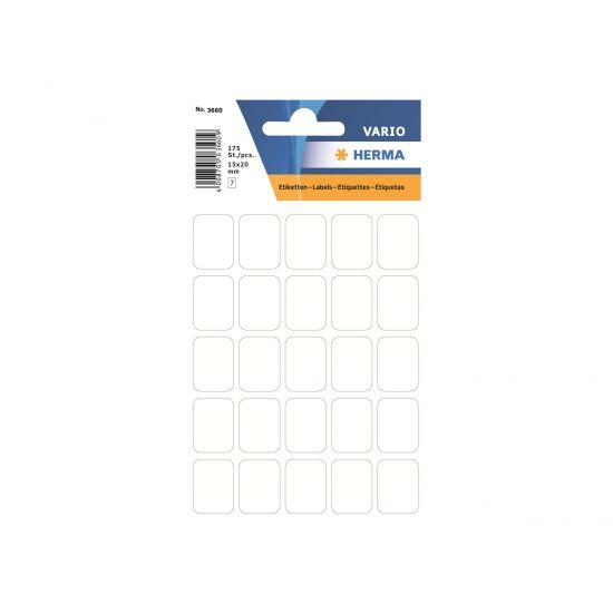 HERMA - etiketter - 175 etikette(r) - 15 x 20 mm