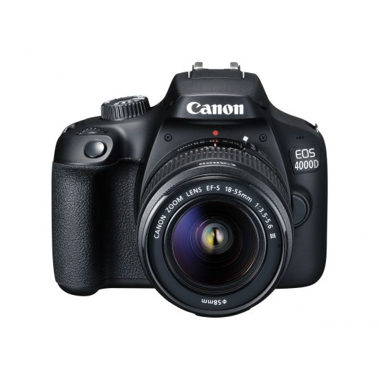 Canon EOS 4000D - digitalkamera - kun kamerahus