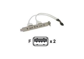 Deltaco USB-panel