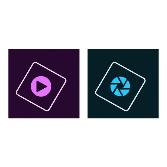 Adobe Photoshop Elements 2018 & Premiere Elements 2018 - bokspakke - 1 bruger