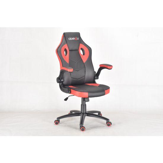 Gear4U Gambit Pro Gamer stol Sort/Rød