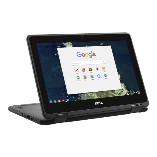 """Dell Chromebook 5190 2-in-1 - 11.6"""" - Celeron N3350 - 4 GB RAM - 32 GB SSD"""