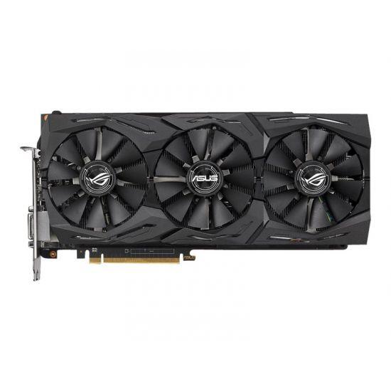 ASUS ROG-STRIX-RXVEGA56-O8G-GAMING &#45 AMD Radeon RXVEGA56 &#45 8GB HBM2 - PCI Express 3.0 x16