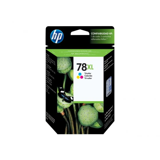 HP 78XL - Højtydende - gul, cyan, magenta - original - blækpatron