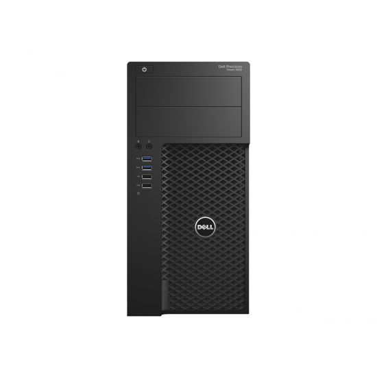 Dell Precision Tower 3620 - MT - Xeon E3-1240V5 3.5 GHz - 16 GB - 256 GB