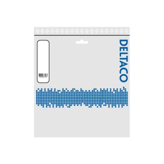 DELTACO SFTP-63AH - patchkabel - 3 m - grå