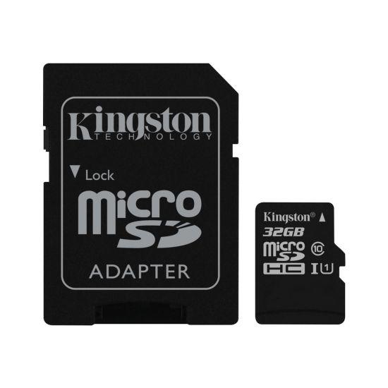 Kingston Canvas Select - flashhukommelseskort - 32 GB - microSDHC UHS-I