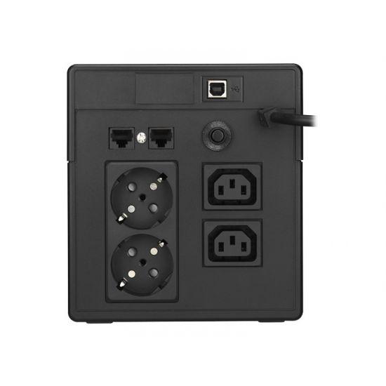 PowerWalker VI 1000 LCD - UPS - 600 Watt - 1000 VA