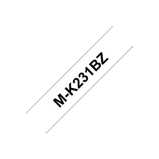 Brother MK231BZ - mærkattape - 1 rulle(r)