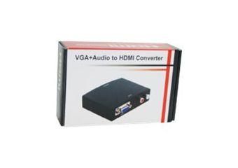 MicroConnect VGA/Audio to HDMI Converter video transformer