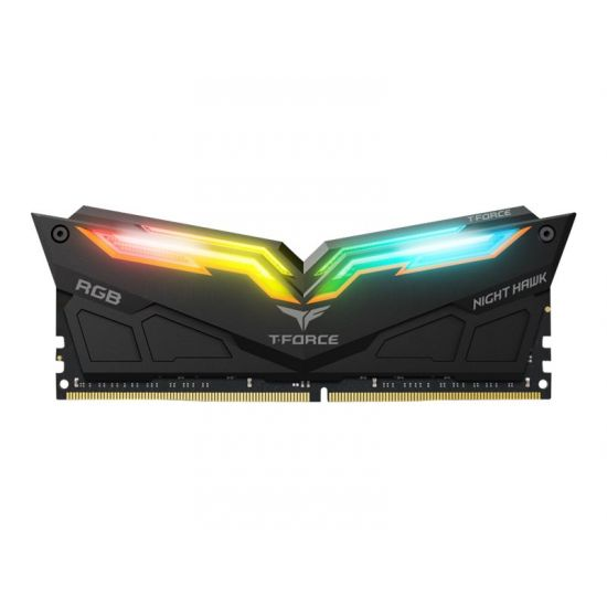 Team T-Force Night Hawk RGB &#45 16GB: 2x8GB &#45 DDR4 &#45 3200MHz &#45 DIMM 288-PIN - CL16