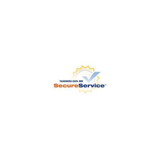 Tandberg Data SecureService Onsite - garantiforlængelse (fornyelse) - 1 år - on-site