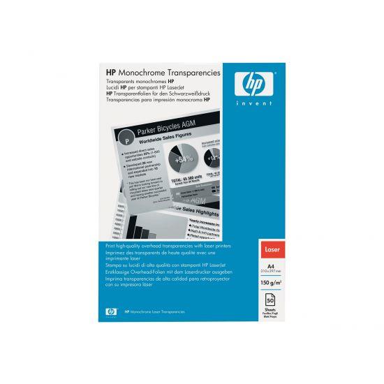 HP - transparenter - 50 stk. - A4