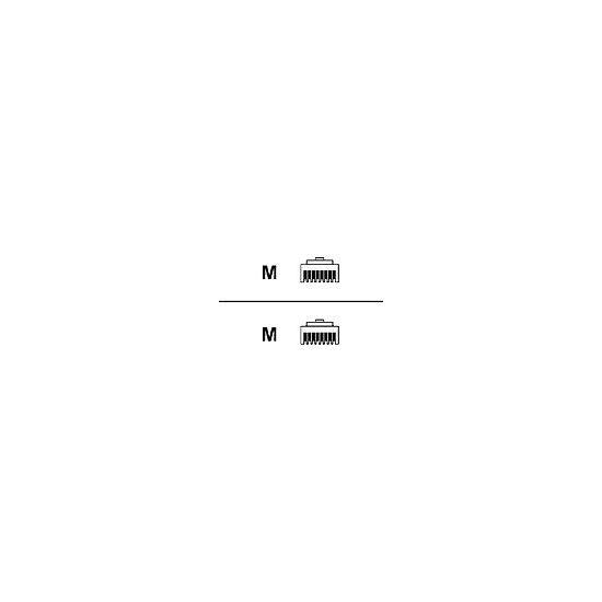 HPE netværkskabel - 2.7 m - grå