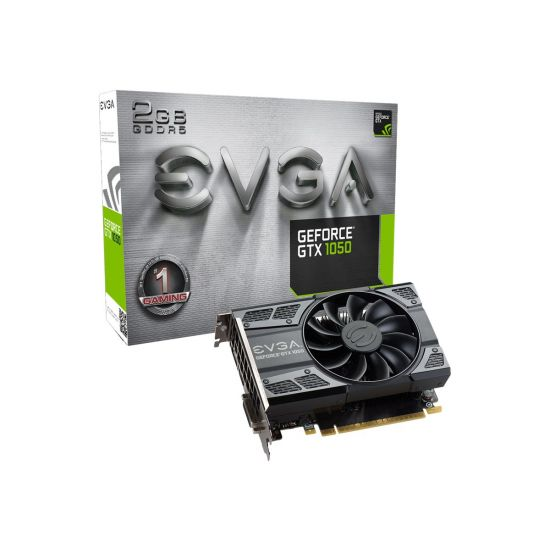 EVGA GeForce GTX 1050 Gaming &#45 NVIDIA GTX1050 &#45 2GB GDDR5 - PCI Express 3.0 x16