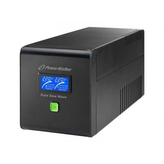 PowerWalker VI 1000 PSW - UPS - 700 Watt - 1000 VA