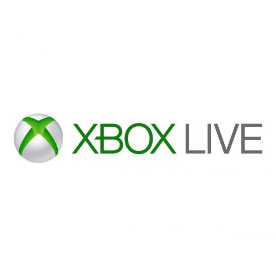 Microsoft Xbox Live Gold Membership - abonnementskort (3 måneder) - 1 licens