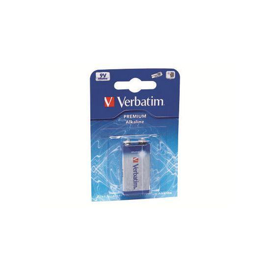 Verbatim batteri - 9V - Alkalisk