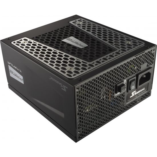 Seasonic Prime Ultra Series 1000 Titanium &#45 strømforsyning &#45 1000W