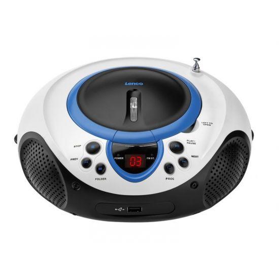 Lenco SCD-38 USB - boombox - CD