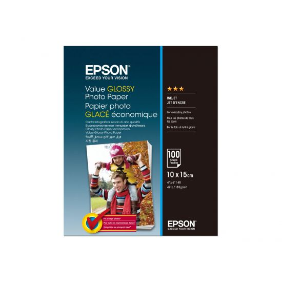 Epson Value - fotopapir - 100 ark - 100 x 150 mm - 183 g/m²