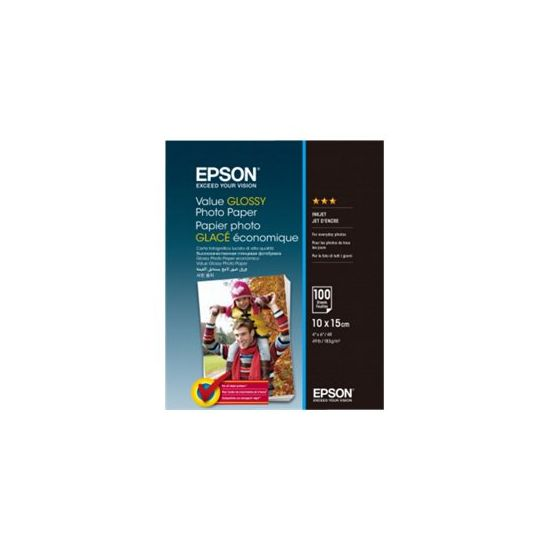 Epson Value - fotopapir - 100 ark - 100 x 150 mm - 183 g/m²