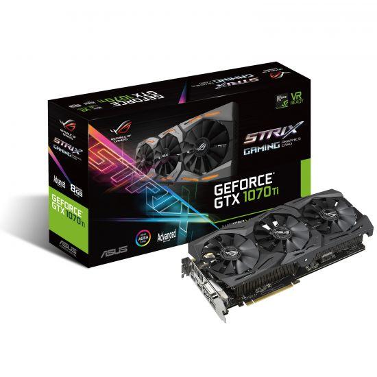 ASUS ROG-STRIX-GTX1070TI-A8G-GAMING - NVIDIA GTX1070 Ti - 8GB GDDR5 PCI EXPRESS 3.0 X16
