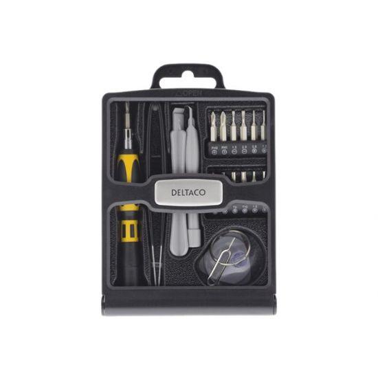 DELTACO Smartphone repair tool kit - skruetrækker med bitsæt